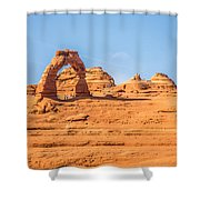 Arches National Park  Moab  Utah  Usa Shower Curtain
