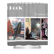 Art Book Shower Curtain