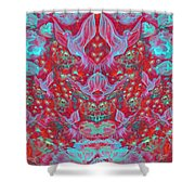 Birds Symphony Shower Curtain