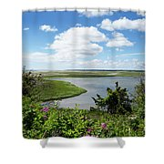 Cape Cod Salt Pond Shower Curtain