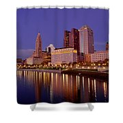 Columbus, Ohio Shower Curtain