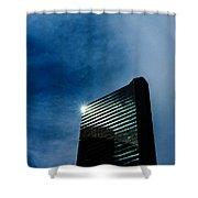 Denver Building Study Shower Curtain