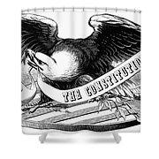 Eagle, 19th Century Shower Curtain