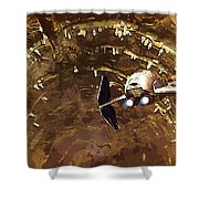 Episode 1 Star Wars Poster Shower Curtain