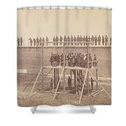 Execution Of The Conspirators Shower Curtain