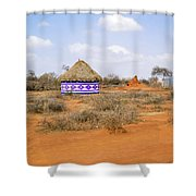 Farmland Landscape In Ethiopia Shower Curtain