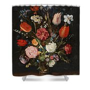 Flower Vase Shower Curtain