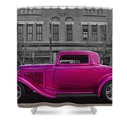 Ford Hot Rod Shower Curtain