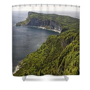 Forillon National Park Shower Curtain