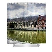Ghent Belgium Shower Curtain
