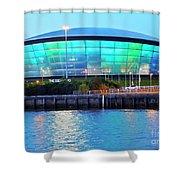 Glasgow, Scotland Shower Curtain