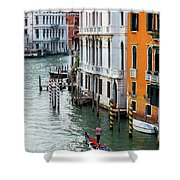 Gondola, Canals Of Venice, Italy Shower Curtain
