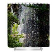 Gormon Falls Colorado Bend State Park.  Shower Curtain