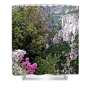 Grand Canyon Du Verdon Shower Curtain