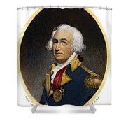 Horatio Gates, C1728-1806 Shower Curtain