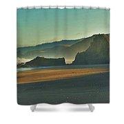 Irish Beach Shower Curtain