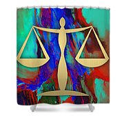 Law Office Collection Shower Curtain