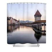 Lucerne - Switzerland Shower Curtain
