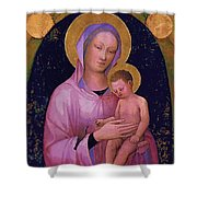Mary And Child Art Shower Curtain