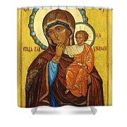 Mary Saint Christian Art Shower Curtain