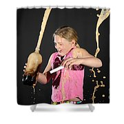 Mentos And Soda Reaction Shower Curtain