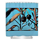 Olives Shower Curtain