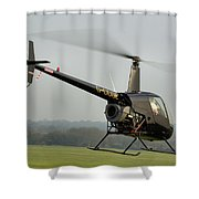 Robinson R22 Beta Shower Curtain