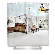 Room Shower Curtain