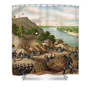 Siege Of Vicksburg, 1863 Shower Curtain