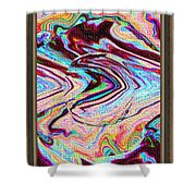 Software Computer Abstract Arts  Shower Curtain