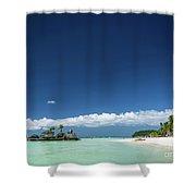 Station 2 Beach Area Of Boracay Tropical Paradise Island Philipp Shower Curtain