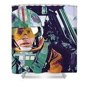 Vintage Star Wars Art Shower Curtain