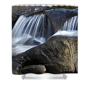 Water Flowing Shower Curtain