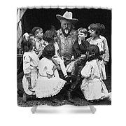 William F. Cody (1846-1917) Shower Curtain