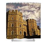 Windsor Castle England United Kingdom Uk Shower Curtain