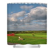 90th Pennsylvania Shower Curtain
