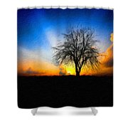 Landscape Jobs Shower Curtain