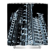 Lloyd's Building London Shower Curtain