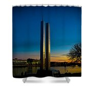 911 Memorial Green Bay Wi Shower Curtain