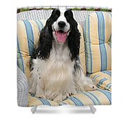 #940 D1075 Farmer Browns Happy For You Shower Curtain