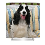 #940 D1076 Farmer Browns Happy For You Shower Curtain