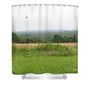 #940 D1095 Farmer Browns West Newbury Shower Curtain