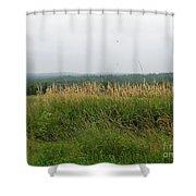 #940 D1096 Farmer Browns West Newbury Shower Curtain