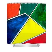 99870 Colors Shower Curtain