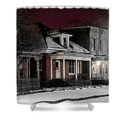 9th St. Auraria Shower Curtain