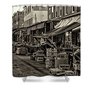 9th Street Italian Market - Philadelphia Pennsylvania Shower Curtain