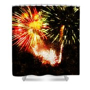 A 4th Celebration  Shower Curtain