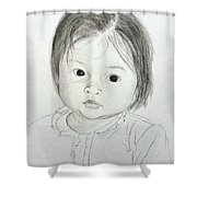 Innocent Eyes Shower Curtain