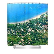 A Bay In Costa Rica Shower Curtain