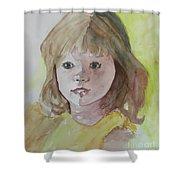 A Beautiful Child Shower Curtain